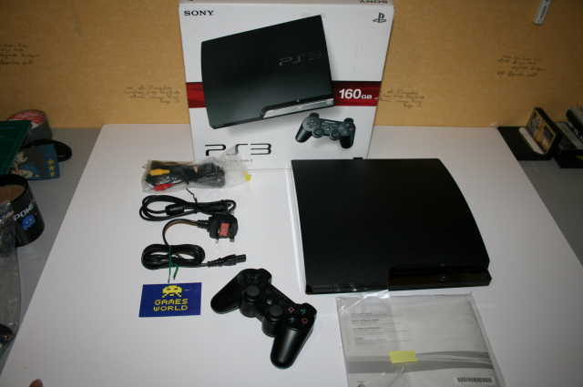 PS3 Slim 160gb Console